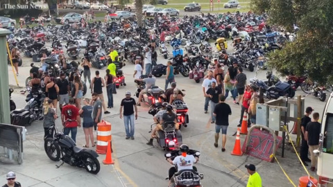 Scenes from Myrtle Beach spring bike rally in Murrells Inlet