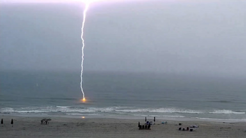 When lightning strikes the beach, it vaporizes the sand — and makes these glass tubes
