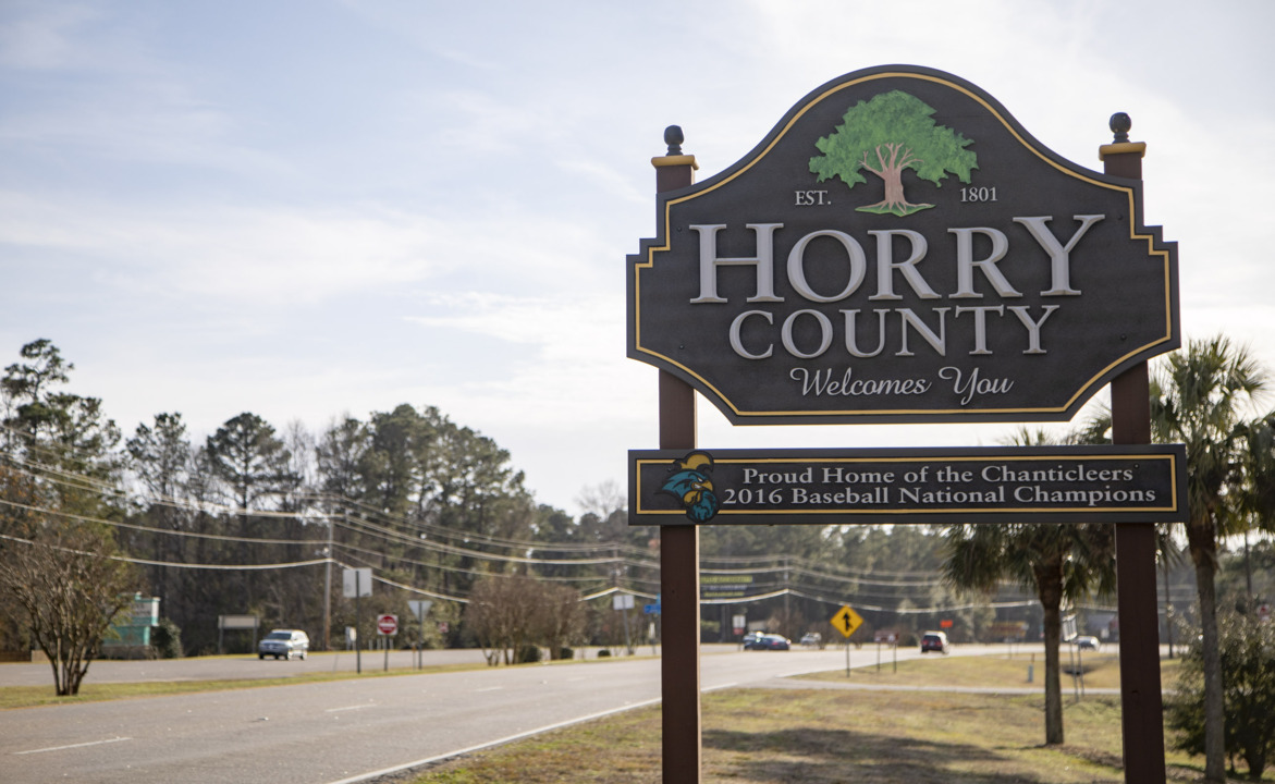 Look up salaries for Horry County government employees
