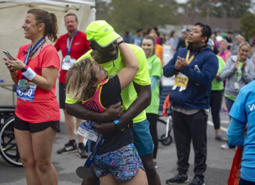 How a blind runner and her trusted guide accomplished a major feat in MB half marathon