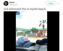 Witness films shooting in Myrtle Beach - Clip