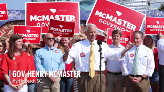 McMaster holds campaign event at old Pavilion site in Myrtle Beach ahead of election