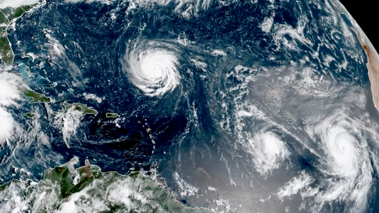 Hurricanes Florence Helene And Tropical Storm Isaac Churn In The