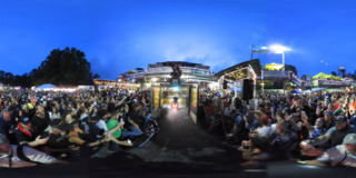 Bikeweek Burnouts 360 Video