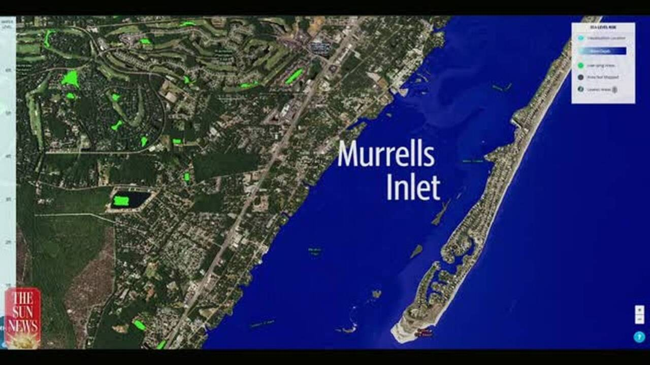 How Sea Level Rise Affects Grand Strand Georgetown Myrtle Beach