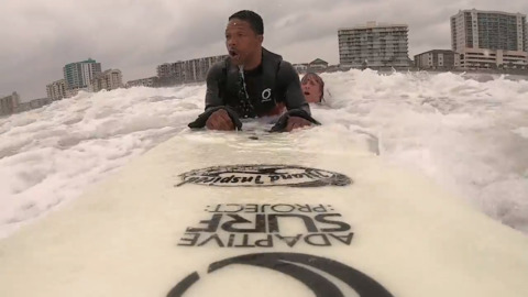 'Surfing for everyone': Grand Strand quadriplegic to compete for U.S. surfing title