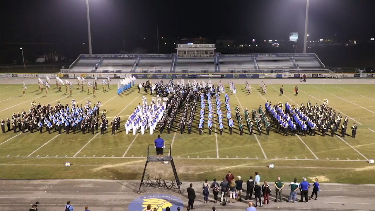 Horry County students strut their stuff in the Marching Band Extravaganza