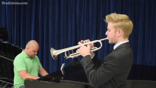 Meet SCF jazz student Luca Stine, who will perform in New York City and at Newport Jazz Festival this summer
