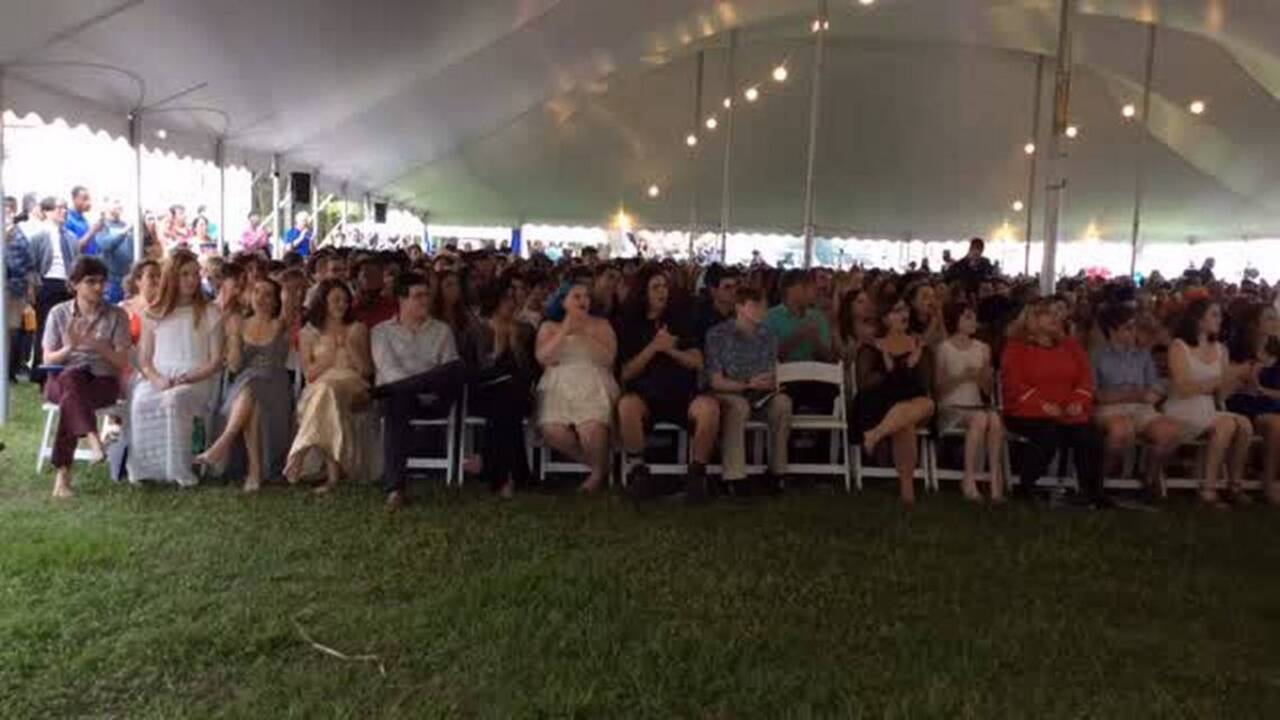 170 students celebrate graduating from New College of Florida