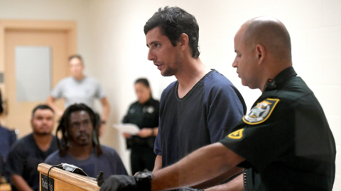 'No bond,' says judge for suspect charged with shooting, then setting fire to body of man