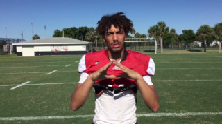 Palmetto High WR Kobe Mays discusses his famous father, Super Bowl champion Alvoid