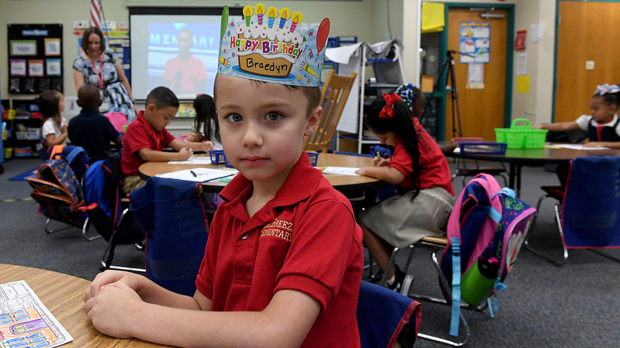 School is back in session. Here's what Manatee's youngest students are excited for this year