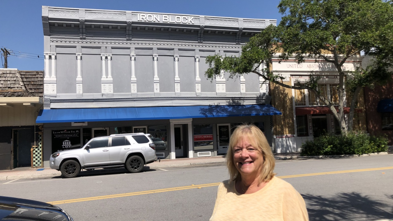 Historic Iron Block Building in downtown Bradenton available for $1.1 million