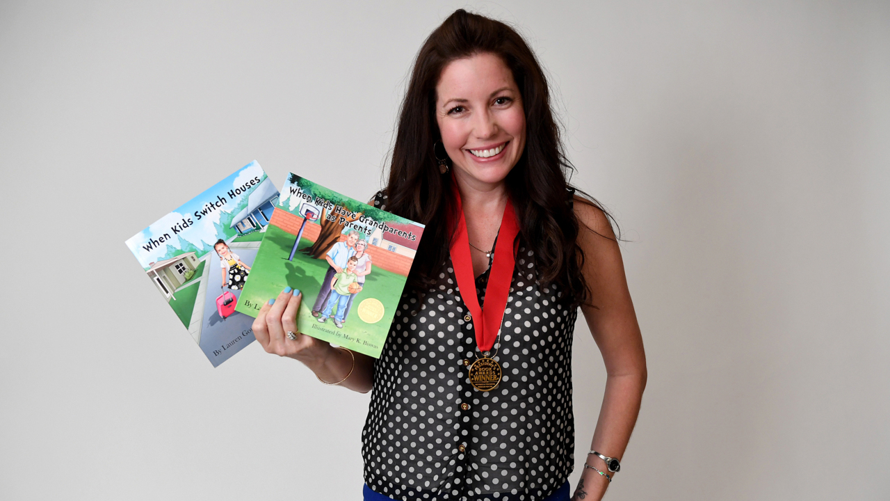 Bradenton author tackles tough subjects for kids based on
