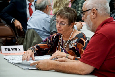 Manatee County certified elections results Sunday morning with a couple of hours to spare