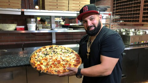New to Manatee County, this restaurant serves pizza with a bit of Jersey attitude