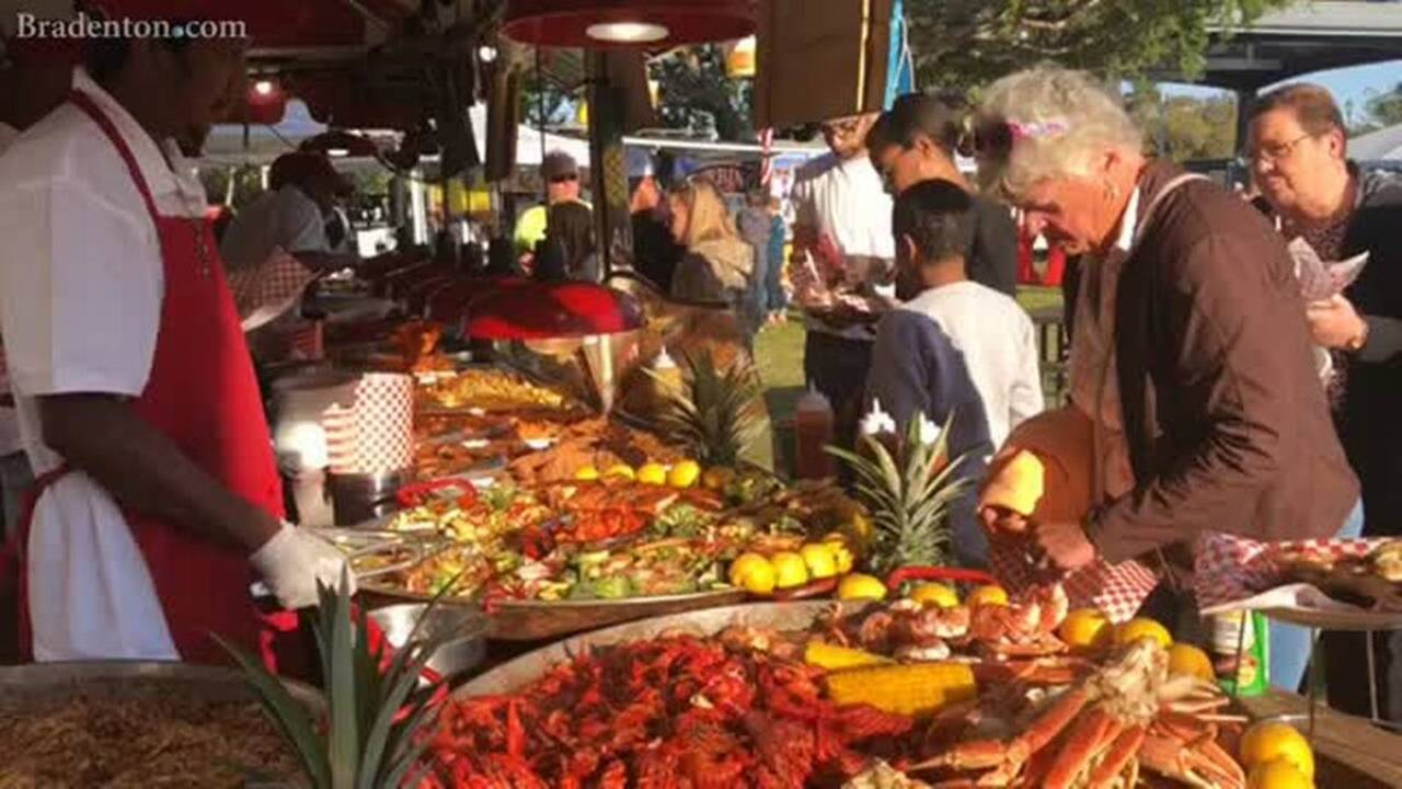 This festival has seafood, live music and booze - and it's here all weekend