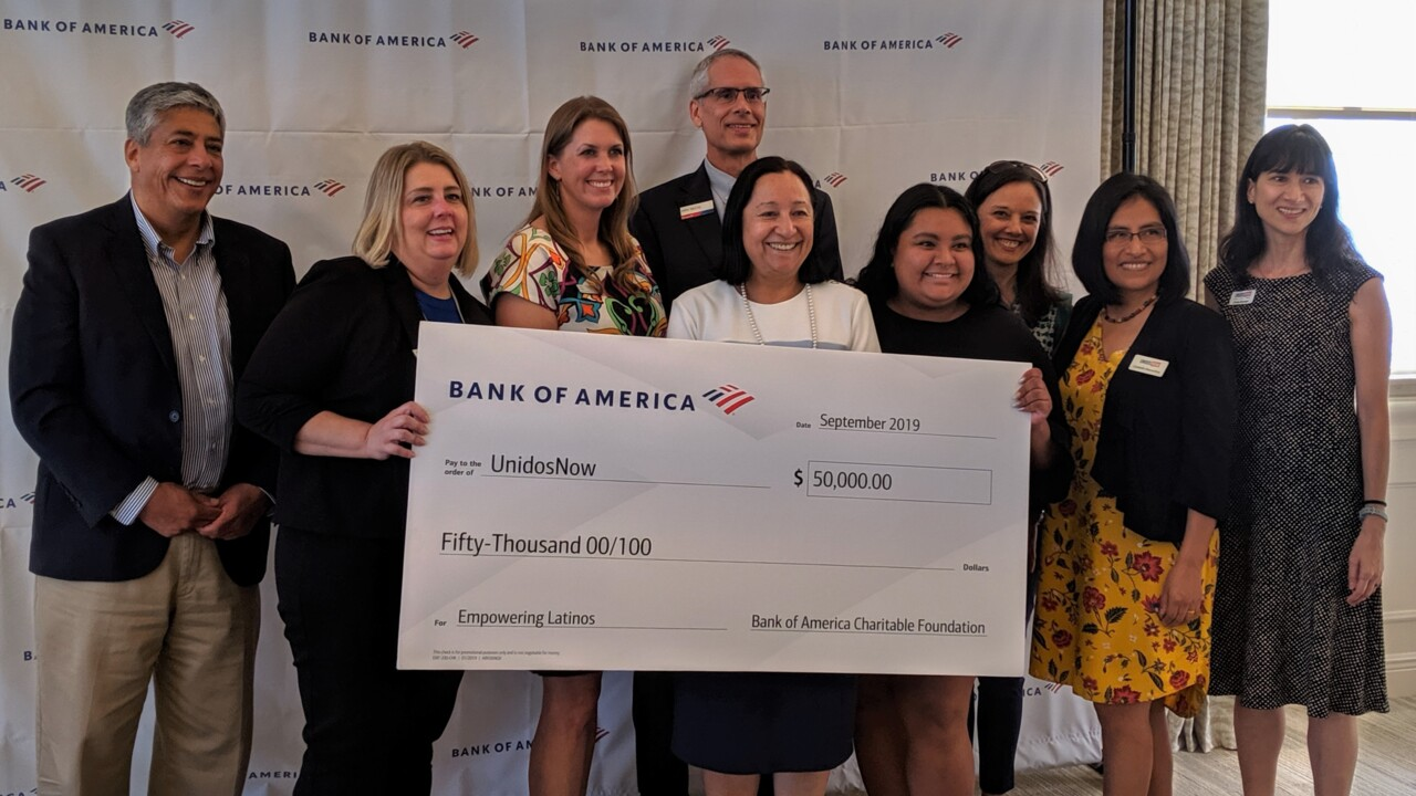 A non-profit opens the doors of opportunity for local Hispanics. It just won $50,000