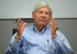 Watch former Sen. Bob Graham envision a win for his daughter, Gwen, in her bid for governor