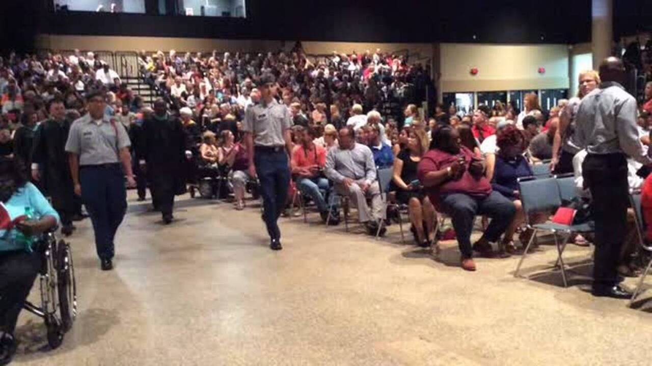 Palmetto High School students celebrate