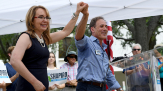 'Do you have the courage to fight?' asks Gabby Giffords