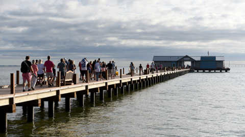 'Knowledge vs. hamburgers.' Learning center, not a restaurant, could open on Anna Maria pier