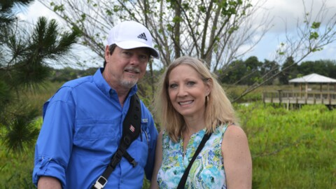 Meet Parrish couple behind viral gator vs. snake photos. It's brought them worldwide attention