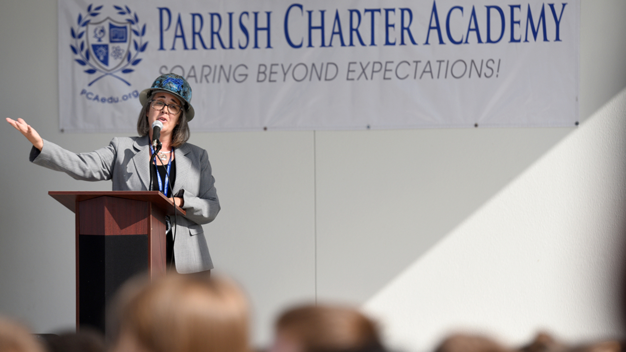 Parrish has three new schools this year. This one touts 'experiential learning'
