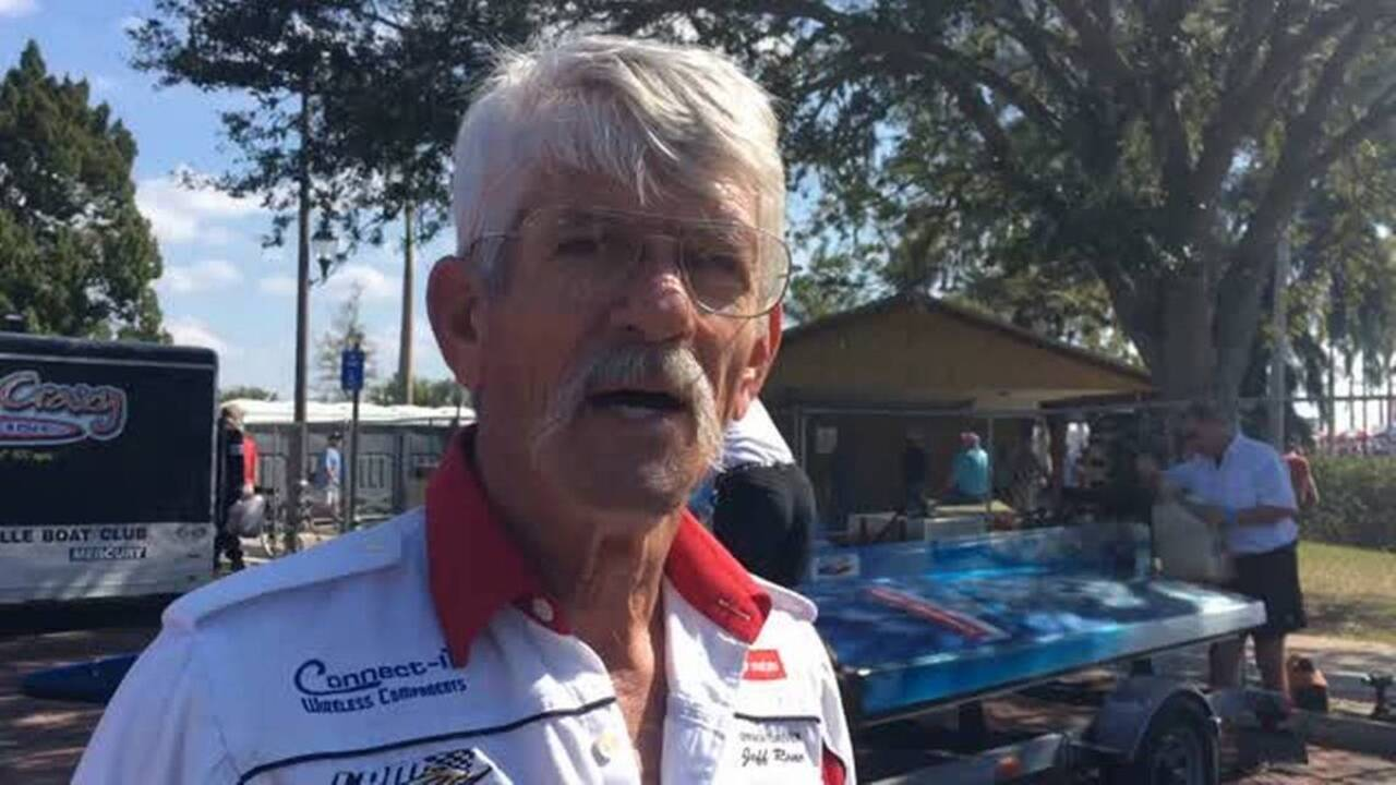 Bradenton native Jeff Reno returns for regatta as one of APBA's top pilots