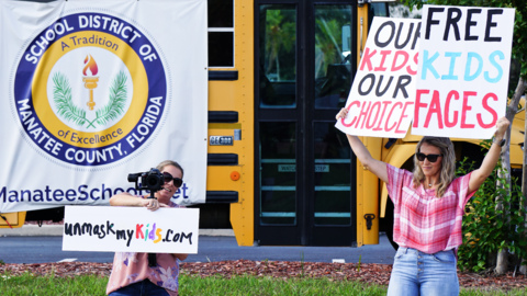 Mask mandate in Manatee schools is a divisive subject. One parent has organized a protest