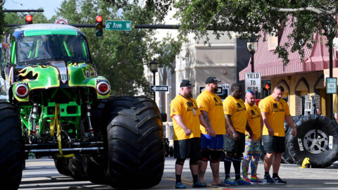 World's Strongest Man fans brought their appetite as business 'boomed' during event