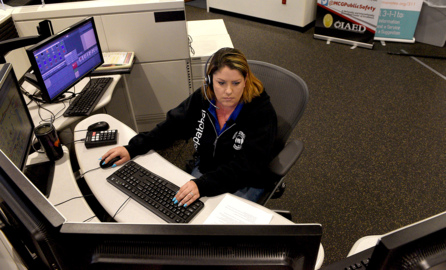 'They were all scared.' Life inside the 911 call center during the COVID-19 pandemic