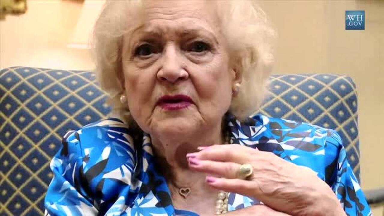 Betty White's secret to a long life? Vodka and hot dogs