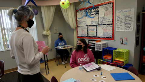 At Pace Center for Girls, the challenges bring them together