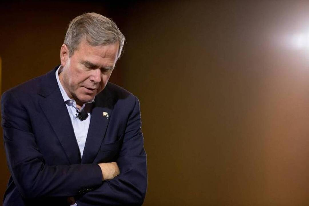 The paradox of candidate Jeb Bush: He seemed most comfortable in his second language