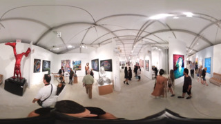Get the VIP experience and check out this 360 tour of Miami Art Week 2018