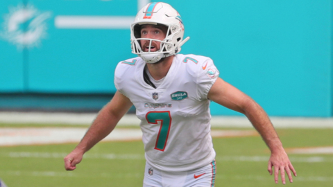 Dolphins kicker Jason Sanders gives some insight into his training