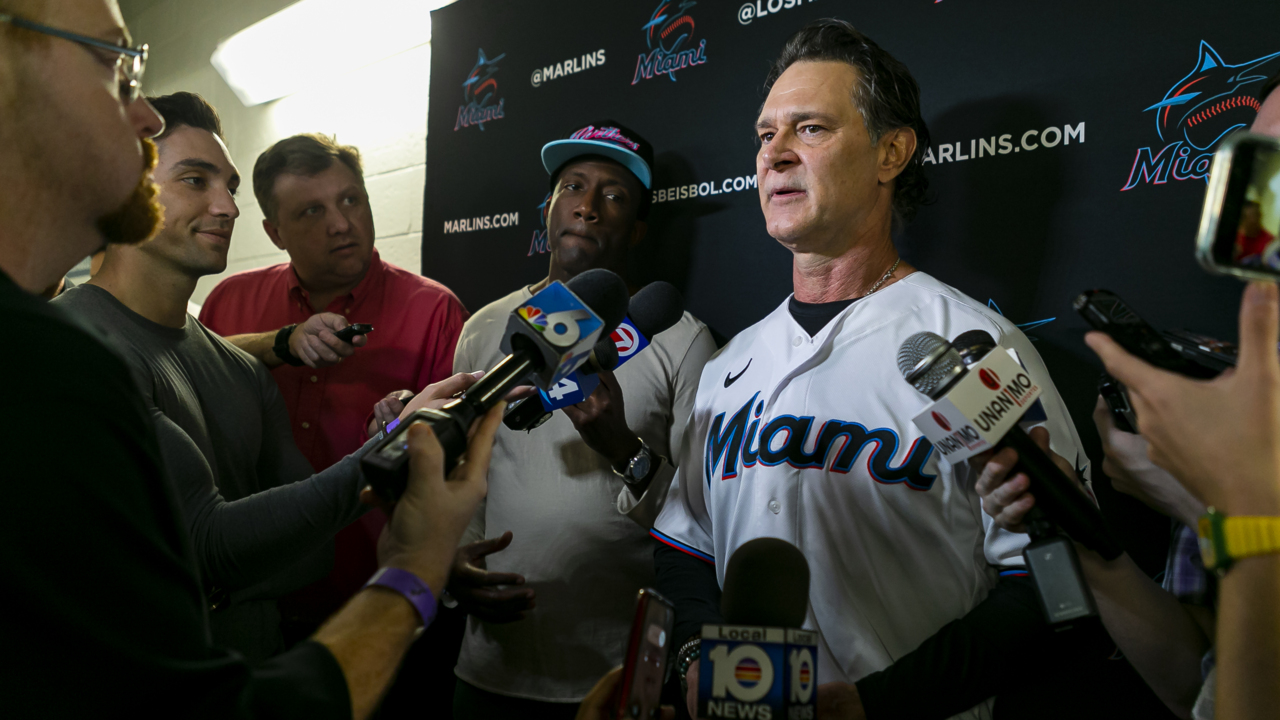Some final Marlins pitcher and catcher observations ahead of 'hectic' full-squad workouts