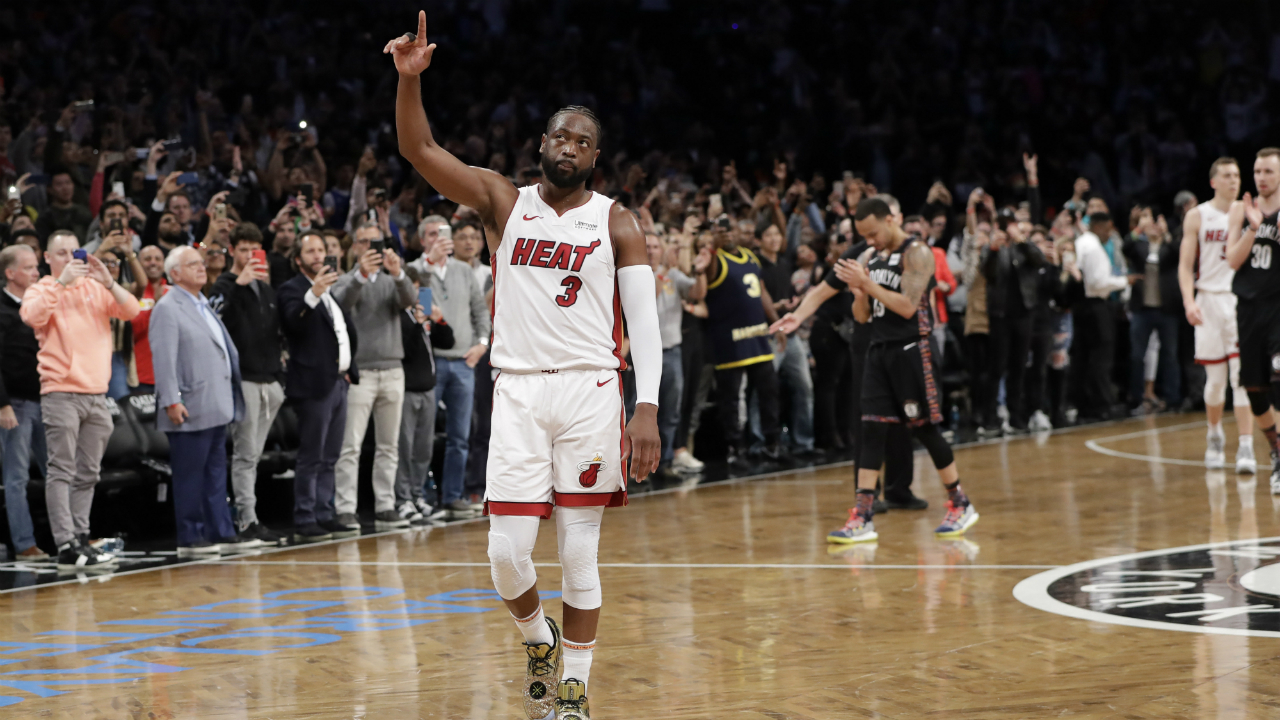 Dwyane Wade on retirement, LeBron and staying in shape. (Hint: It's not what you think.)