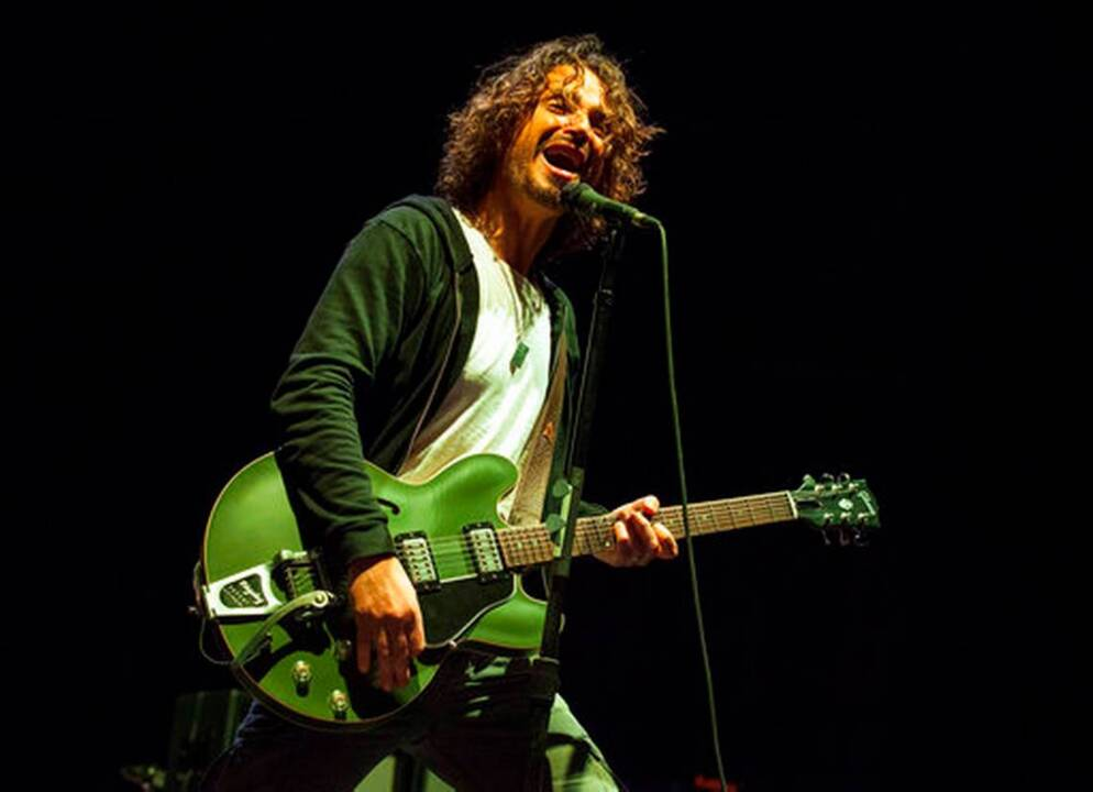 Soundgarden singer's widow files suit in Miami against his band's 'disgraceful conduct'