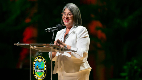 Miami-Dade County Mayor Daniella Levine Cava gives COVID-19 updates