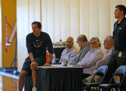 Miami Heat's Erik Spoelstra says 'playoffs are not about comfort'