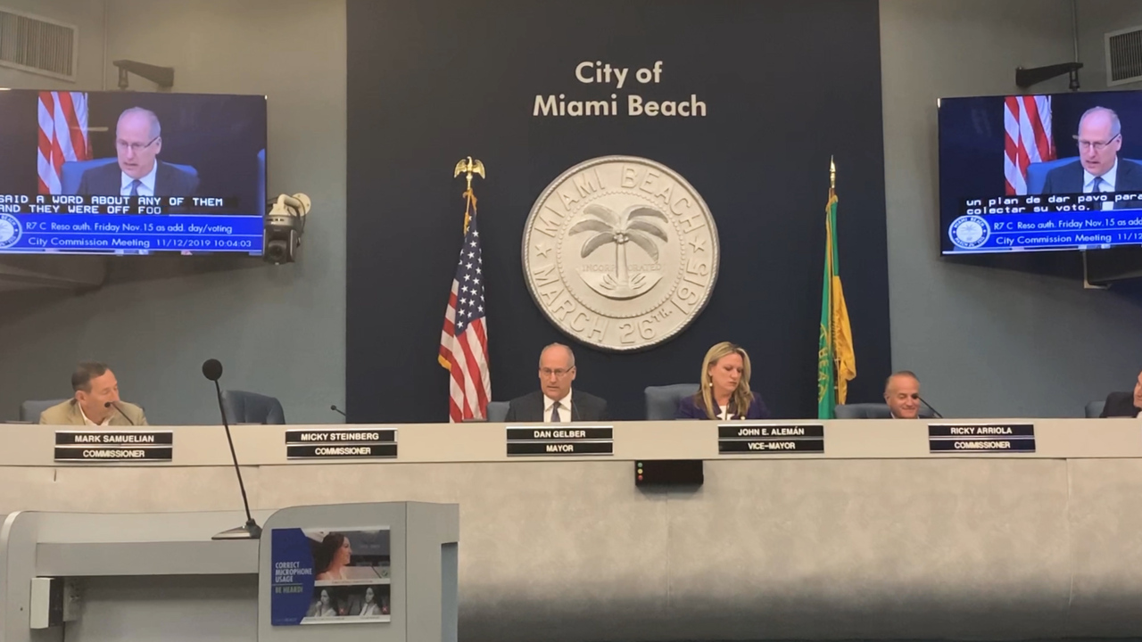 Amid 'Turkey Gate' controversy, Miami Beach passes early voting extension