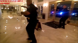 Dramatic body-cam footage shows shootout inside Trump National Doral