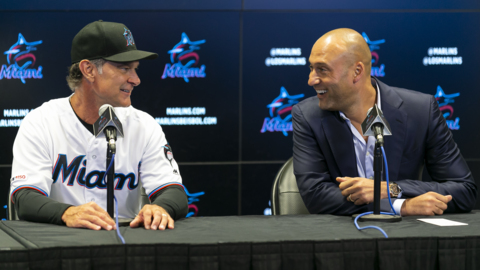 Miami Marlins extend manager Don Mattingly, then lose No. 100 to Washington Nationals