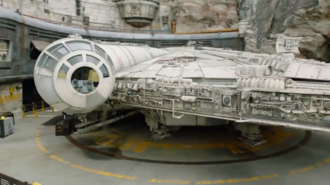 Disneyland's Millennium Falcon ride gets millionth rider after opening 7 weeks ago
