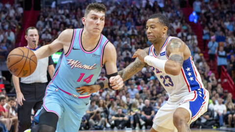 Tyler Herro back at practice and close to return. Also, a Jimmy Butler injury update