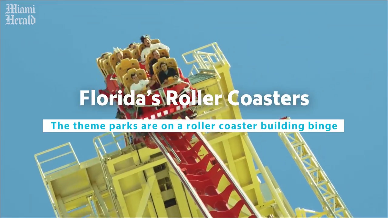 What's new at the theme parks: roller coasters, a stunt show and a Mickey Mouse ride