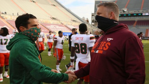 Manny Diaz on the Hurricanes being a fourth quarter team