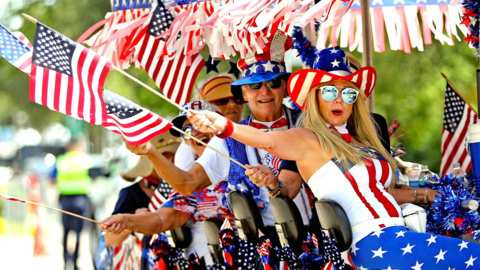 Fourth of July Parade on Key Biscayne
